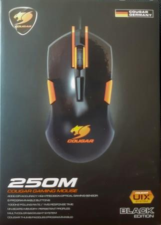 obzor myshi cougar m250 gaming mouse 001
